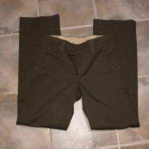 Gap pants size 8. Green pants/jeans.